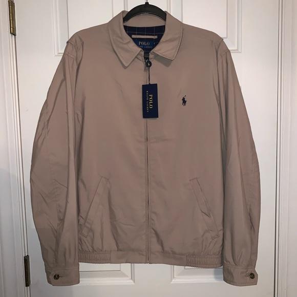 dfab0e7b6 Polo Ralph Lauren Khaki Jacket NWT